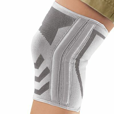 ACE Knitted Stretchy Knee Brace With Side Stabilizers Providing Lateral Support