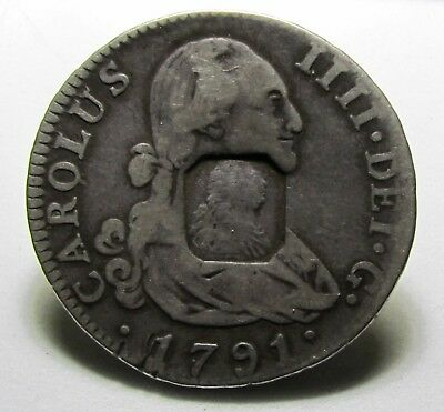 Great Britain,Bank Of England,1804 Emergency Issue, Half Dollar,Octagonal CM