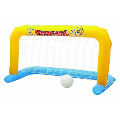 Bestway Floating Game Swimming Pool Inflatable Water Polo Net 137cmX66cm & Ball
