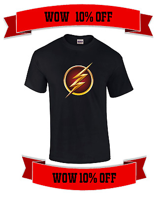 The Flash Superhero t shirt