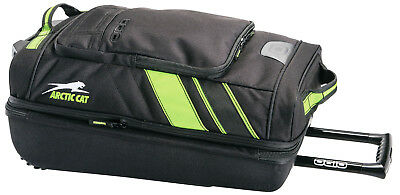 Arctic Cat Ogio Small 2-Wheel Roller Bag Black And Green 5262-902