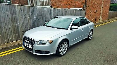 Audi A4 2.0 TDI S LINE 2005 SILVER ONLY 44,000 MILES LAST OWNER FOR 9 YEARS