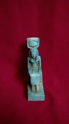 Ancient Egyptian Statue of God Hathor (157–159 B.C)