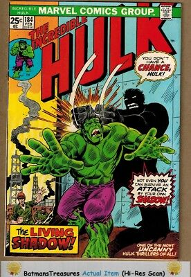 Incredible Hulk #184 (9.2-9.4) NM Herb Trimpe Cover 1975 Bronze Age Key Issue