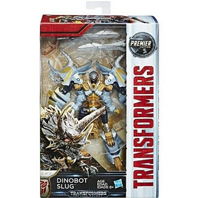 Transformers The Last Knight Premier - Deluxe Class W2 - Dinobot Slug