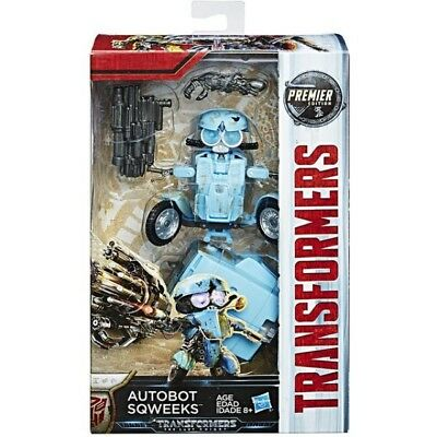 Transformers The Last Knight Premier - Deluxe Class W2 - Autobot Sqweeks