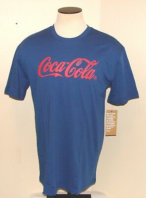 Coca Cola Fashion T-Shirt Men's XL Navy (New with Tags) ***FREE SHIP***