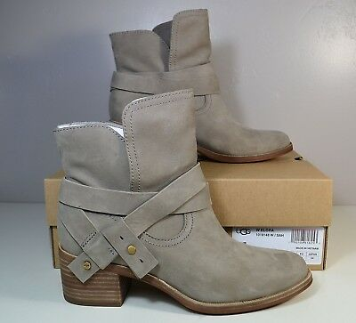 fba6dba8f1f NIB WOMEN'S UGGS Ugg Australia Elora Sahara Leather Booties Boots Shoes Sz  6-10