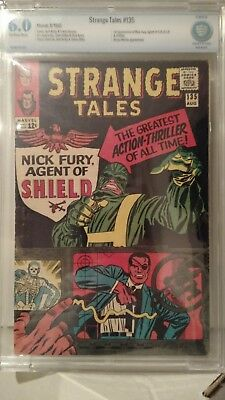 Strange Tales # 135 CBCS 6.0  Silver age and Marvel Movie Key  like cgc