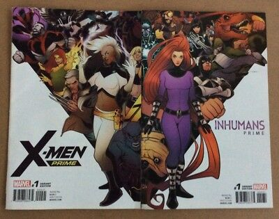 X-Men Prime #1 AND Inhumans Prime #1 - Variant Editions!