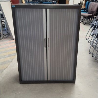 Tambour Door Stationery Cabinet - 900W x 1200H