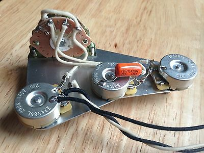 Left Hand Wiring Harness Upgrade For Fender Stratocaster left hand wiring harness upgrade for fender stratocaster cts