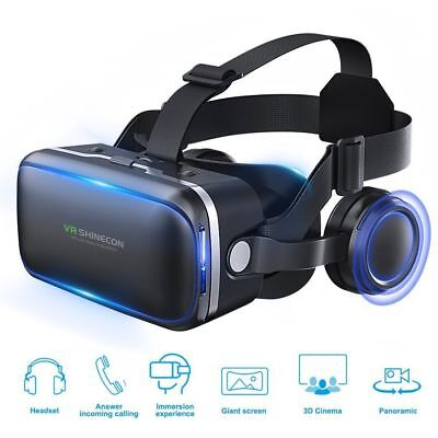 UK Virtual Reality 3D VR Headset Glasses 360 Panoramic for iPhone Android KS