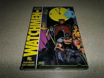 Watchmen Graphic Novel Sealed Alan Moore Dave Gibbons Hardcover HC DC NEW