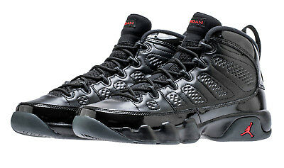 Air Jordan Retro 9 Black Red 302370 014 Men Gs Grade School Size 4y