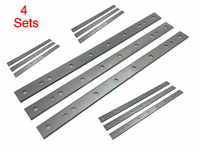 "4 Sets 13"" inch Planer Blades Knives for Dewalt DW735, DW735X, replaces DW7352"