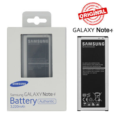 New Original OEM Battery EB-BN910BBE For Samsung Galaxy Note 4 N910A 3220mAh NFC