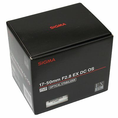 Sigma 17-50mm f/2.8 EX DC OS HSM Lens 17-50 F2.8 Built-in Motor for Nikon ~ NEW
