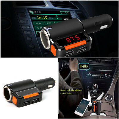 Wireless Bluetooth Modulator USB FM Transmitter Car Kit Charger MP3 Player BC09