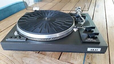 Direct Drive AKAI AP-306C TURNTABLE WITH NEW NEEDLE