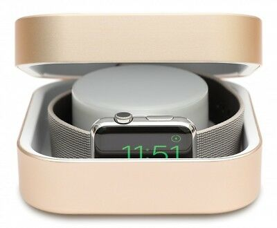 Apple Watch Power Bank Charger Case 3800mah Gold Watchcase Cover Luxry New