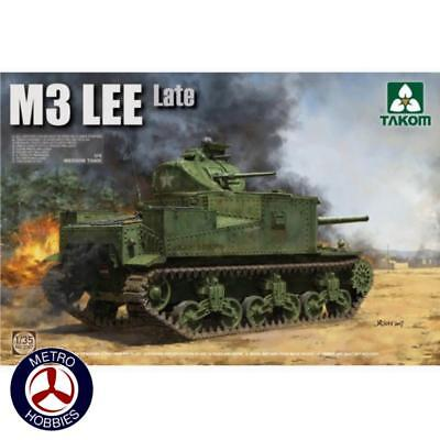 Takom 1/35 M3 Lee US Medium Tank Late Version TAK-2087 Brand New