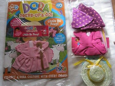 "Bnip - ""dora Dress Up And Go Magazine"" No. 40 'little Bo Peep' + 2 Extra Outfits"