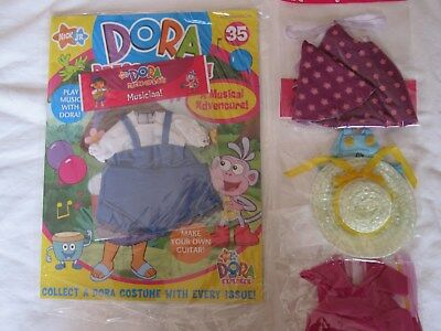 "Bnip - ""dora Dress Up And Go Magazine"" No. 35 'musician' + 2 Extra Outfits"