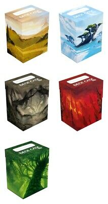 Ultimate Guard Deck Case 80+ Standard Size Lands Edition