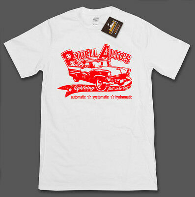 Rydell Auto's Grease Inspired Retro Movie Film T-shirt - Movie Tee Shirt NEW