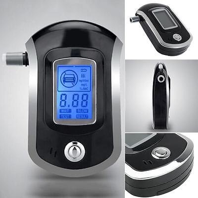 Digital police breath alcohol tester analyzer detector breathalyzer test LCD BT