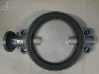 "10"" Cast Iron Wafer Style Butterfly Valve, PN16, DN250 Unused 10 Bar"