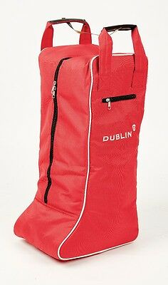Dublin Imperial Tall Boot Bag-Red