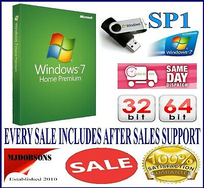 Windows 7 Professional 64-Bit DVD SP1 Full Version + PRO CoA License Key