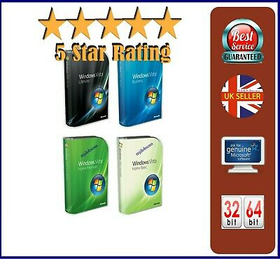 WINDOWS Vista 32 64 INSTALL ALL VERSIONS HOME ENTERPRISE ULTIMATE ISO Download