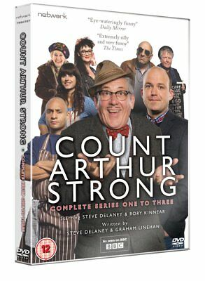 COUNT ARTHUR STRONG the complete  series 1 2 & 3 box set. New sealed DVD.