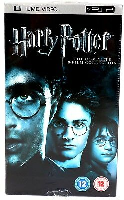 New Sealed Harry Potter The Complete 8-Film Collection UMD Video PSP