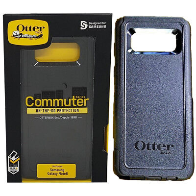 OtterBox COMMUTER Case For Samsung Galaxy NOTE 8 BLACK, NEW