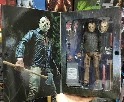 Friday the 13th The Final Chapter Jason Voorhees Action Figure Collectable Toy