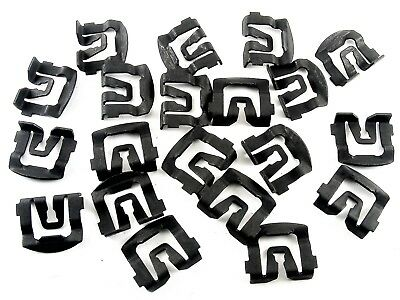 Ford Windshield & Rear Window Trim Molding Clips- Qty.20- #026