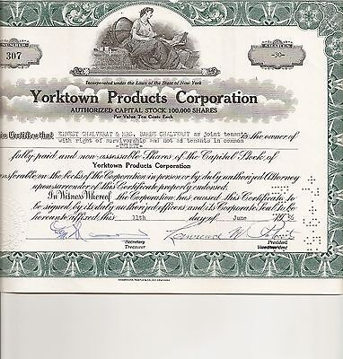 Yorktown Products Corporation