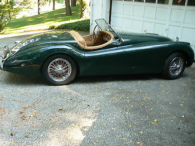 1953 Jaguar XK 120 A Nice Easy Project A Nice XK 120 Jaguar OTS  Needs Attention From Sitting, A Cleaning & Fresh Fuel