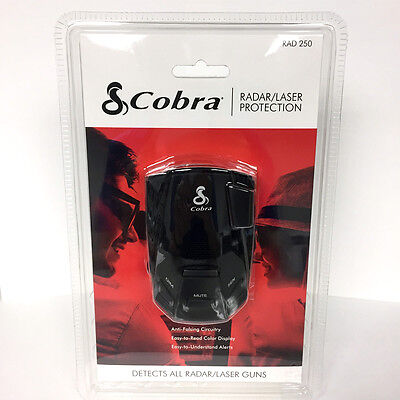 COBRA RAD 250 Radar / Laser Protection Detects all Radar / Laser Guns RAD250