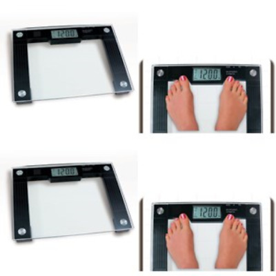 Talking Bathroom Scale 550lbs Wide Digital Weight Capacity Heavy Duty Weigh