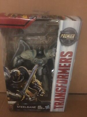 Transformers (The Last Knight Premier Edition) Steelbane Hasbro Figure