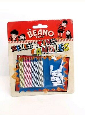 The Beano Comics Relighting Candles * New *