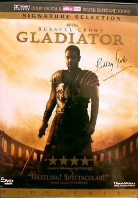 Gladiator (DVD, 2000, 2-Disc Set) Signature Selection Widescreen Russell Crowe