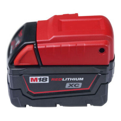 Cordless USB Charger For Milwaukee 49-24-2371 M18 Power Source Port 12 Volt New