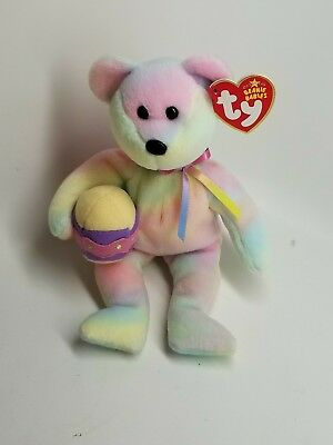 TY Beanie Baby - EGGS 2006 the Easter Bear (8.5 inch) - Stuffed Animal Toy