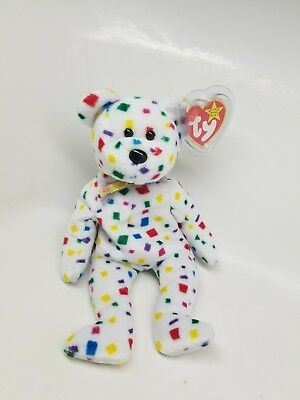 TY Beanie Baby - TY 2K the Bear (8.5 inch) - Stuffed Animal Toy